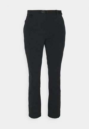 WINTER LIFESTYLE PANTS - Trousers - black