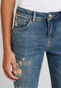 Mos Mosh - BRADFORD WORKED - Jeans Skinny Fit - blue denim - 5