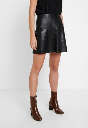 SKIRT - A-line skirt - black