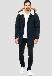 INDICODE JEANS - Winter coat - black - 1
