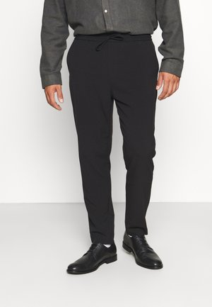 CLUB PANTS WITH DRAWSTRING - Trousers - black