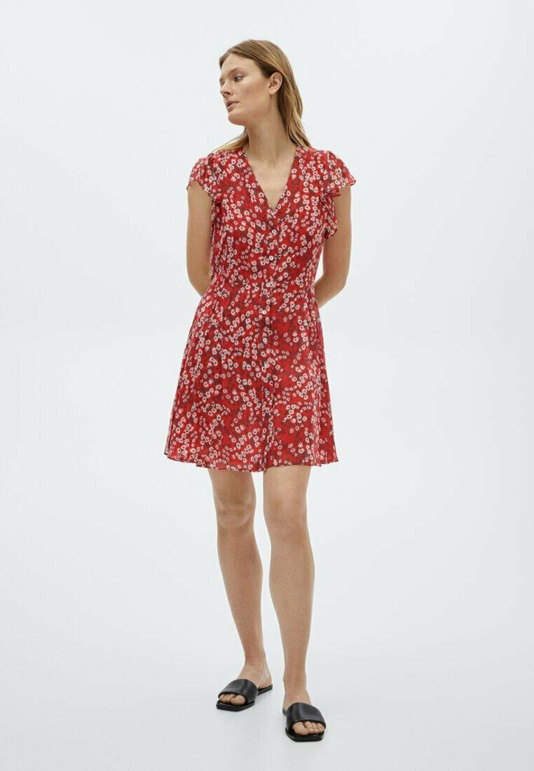 Massimo Dutti - Day dress - red