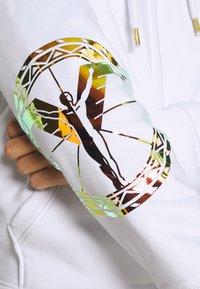 Carlo Colucci - UNISEX - Zip-up sweatshirt - white reflectiv - 6