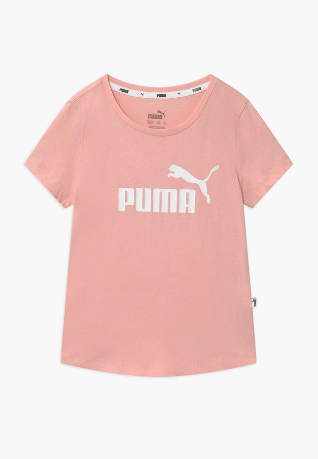 TEE - Print T-shirt - peachskin