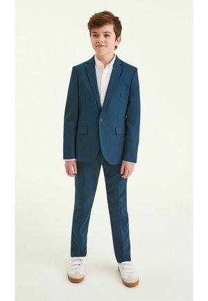 Oblekové kalhoty - teal