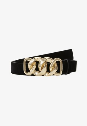 PCCHAIN WAIST BELT  - Tailleriem - black/gold-coloured