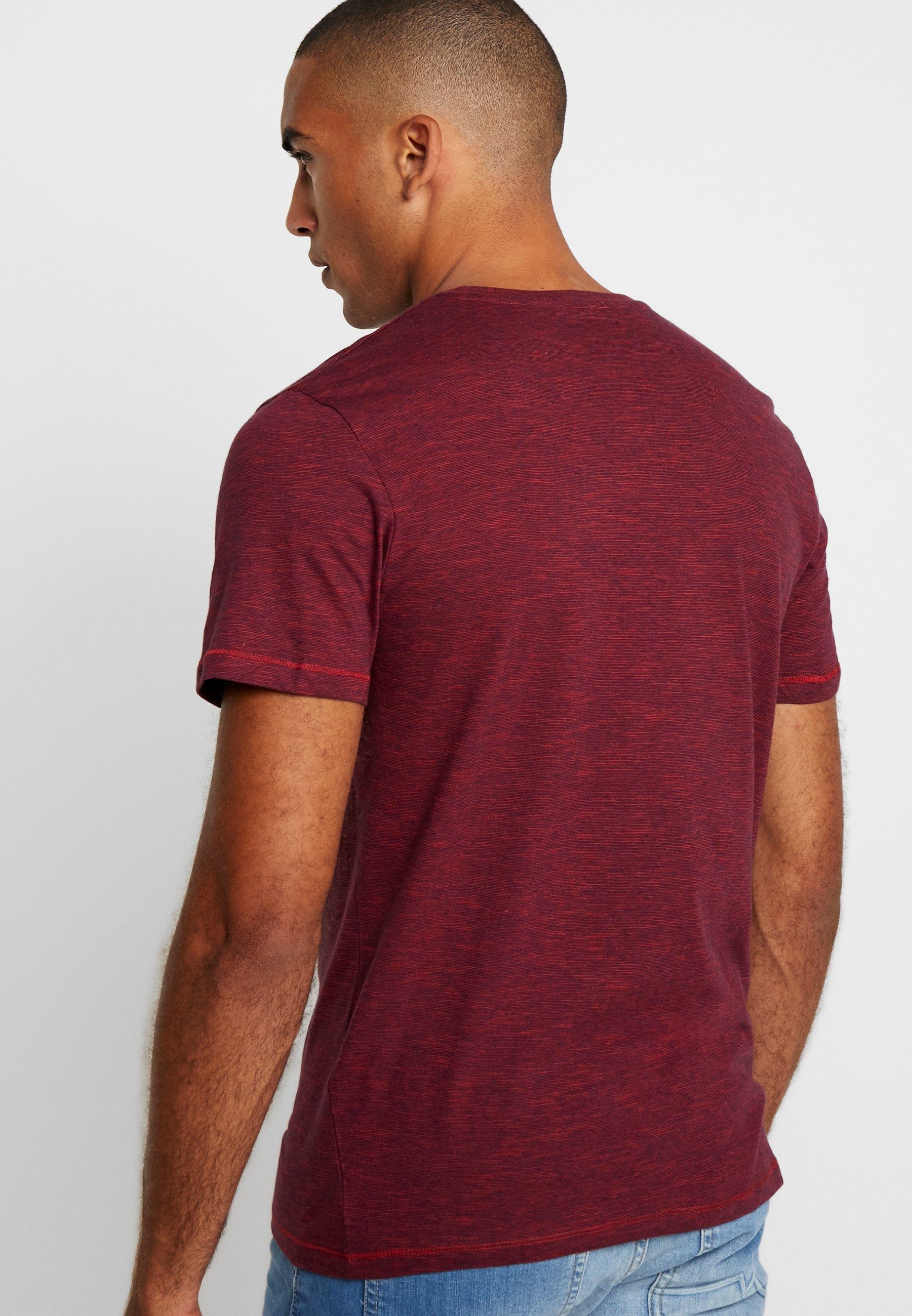 TOM TAILOR Print T-shirt - red/navy Vo7xQ