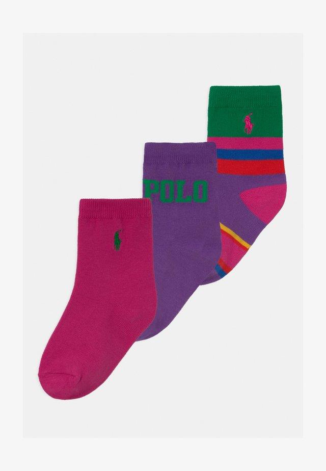 USFLAGSTRIPE 3 PACK - Socken - pink