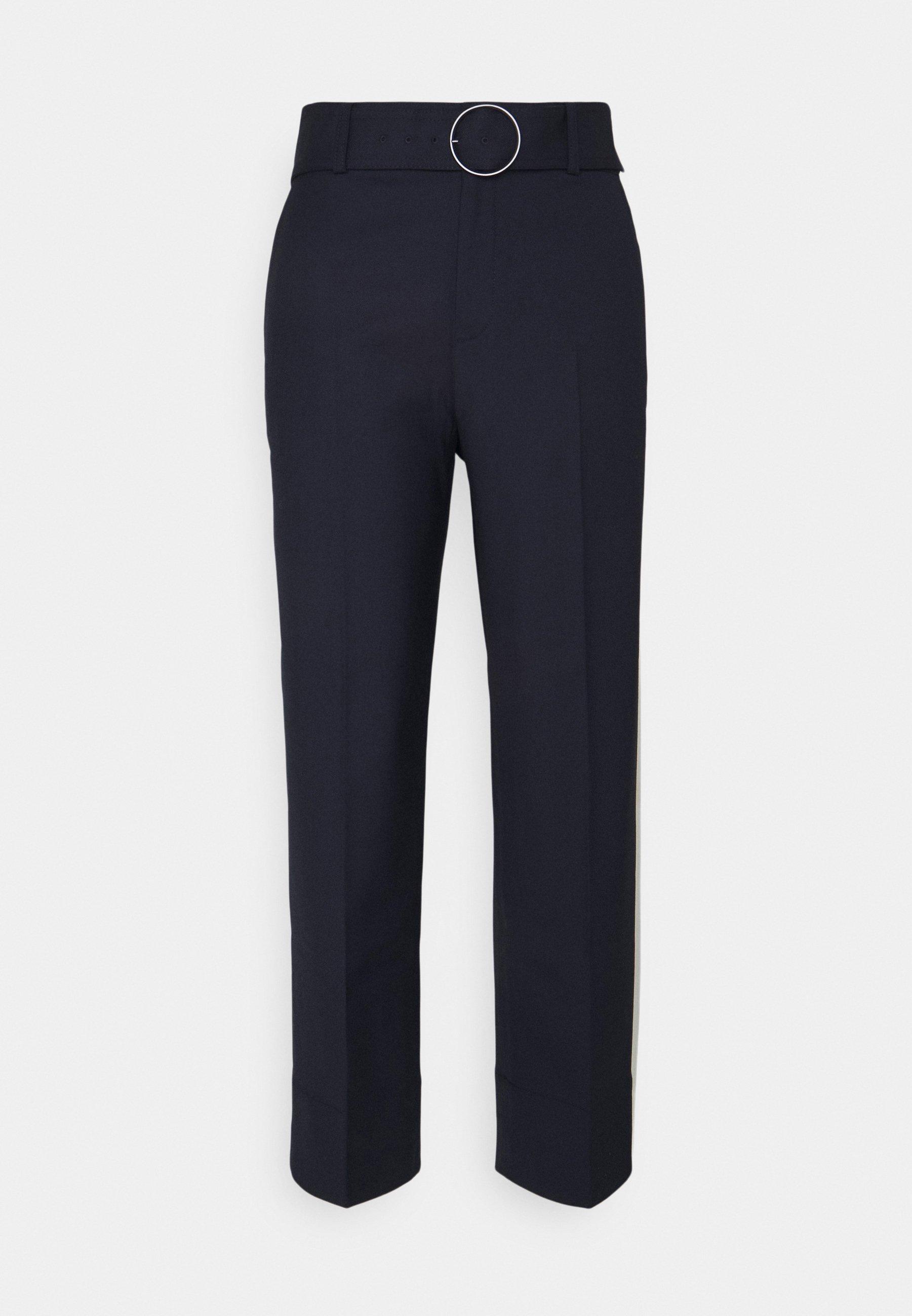 Women ENAMEL RING PANT - Trousers