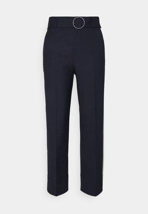 ENAMEL RING PANT - Kalhoty - navy