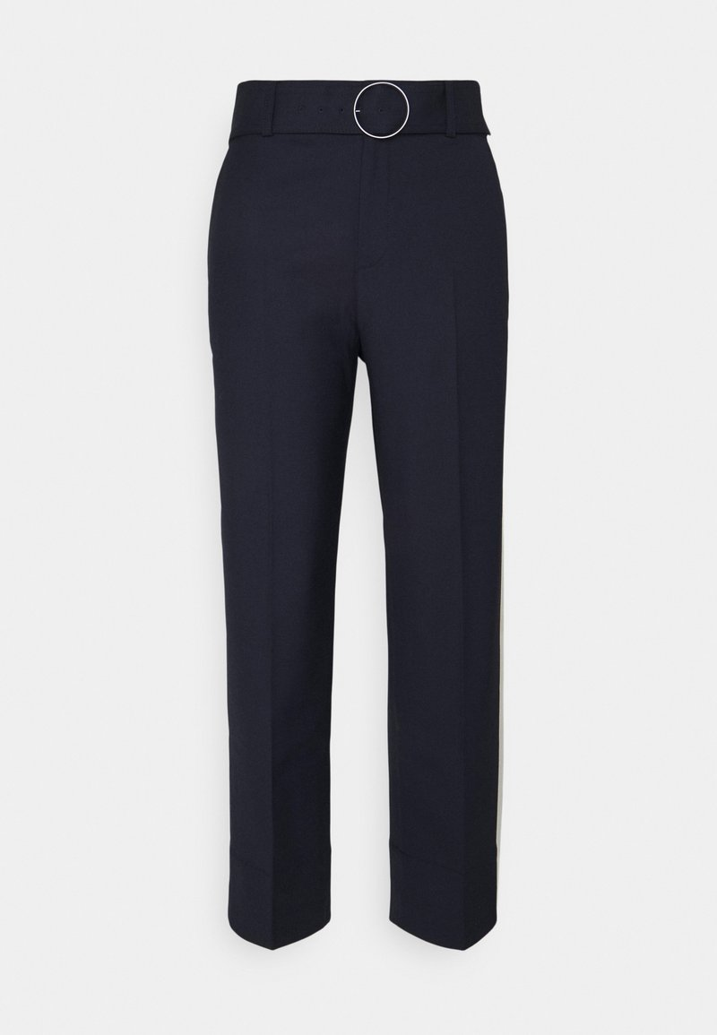Club Monaco - ENAMEL RING PANT - Trousers - navy