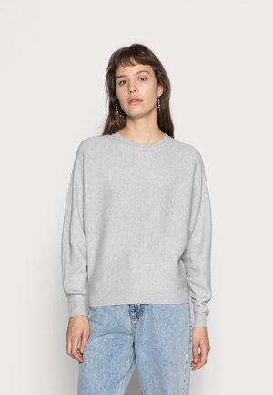 NMSHIP O-NECK - Svetr - light grey melange