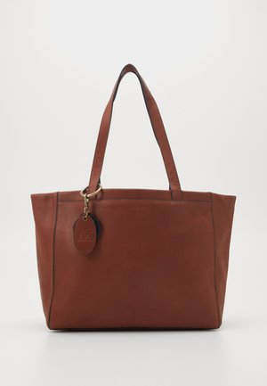Bolso shopping - authentic cognac