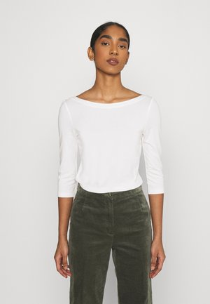 ONLAYA BOATNECK - Topper langermet - cloud dancer