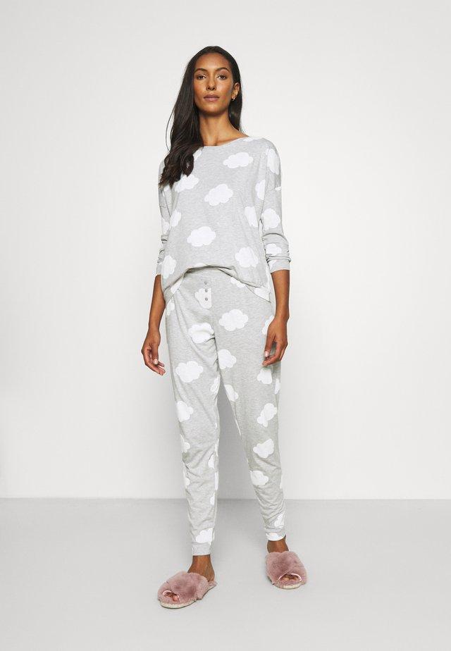 Pyžamová sada - grey/white