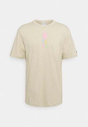 DOWNTOWN GRAPHIC TEE - T-shirt con stampa - spray green