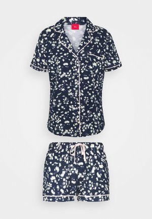 SHORTY - Pyjama set - dark blue