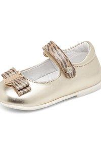 Naturino - NATURINO JETE - Ankle strap ballet pumps - gold - 5