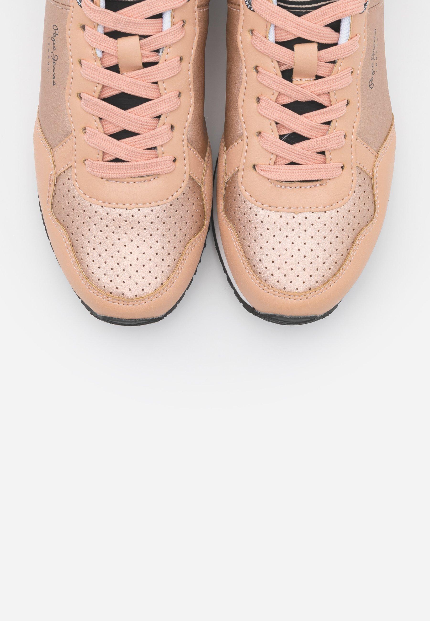 Pepe Jeans Archie Noon - Sneakers Dark Peach