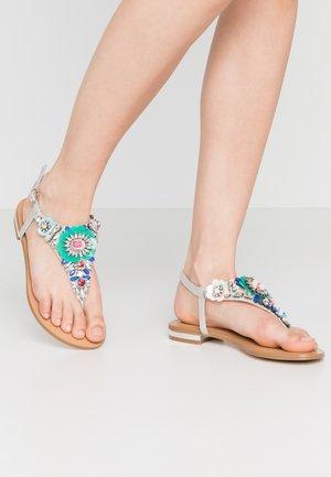 HANILLA - Sandalias de dedo - multicolor