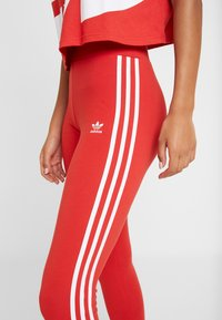 adidas Originals - Leggings - lush red/white - 4