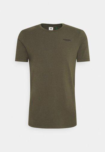 SLIM BASE R T - T-shirt - bas - compact stretch combat