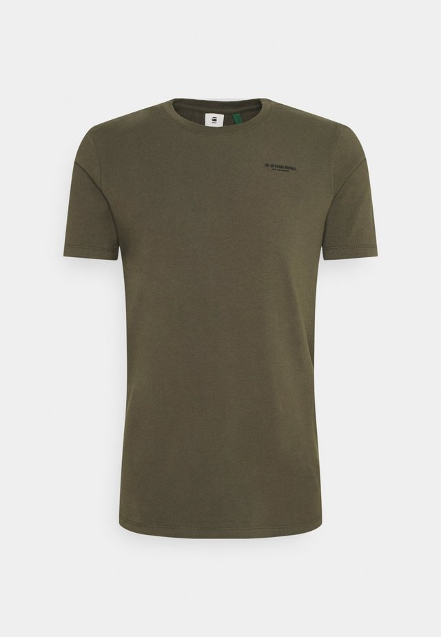 SLIM BASE R T - T-shirt basic - compact stretch combat