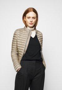 Colmar Originals - LADIES JACKET - Down jacket - toast/light steel - 4