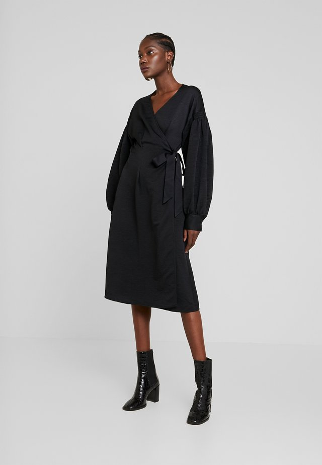 MERRILL DRESS - Vapaa-ajan mekko - black