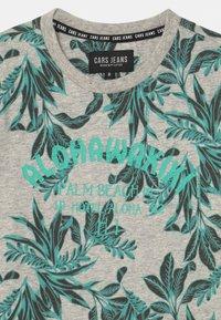Cars Jeans - BOSSO - T-shirt imprimé - aqua - 2