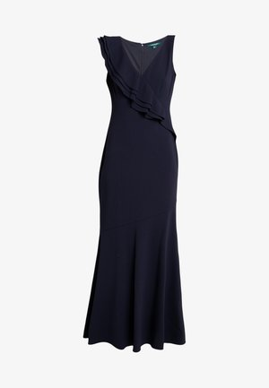 LUXE TECH LONG GOWN - Vestido largo - lighthouse navy