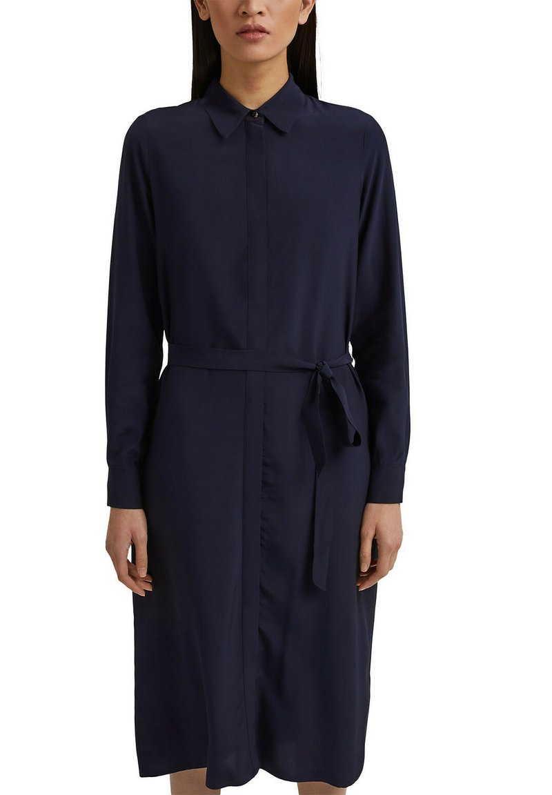 Esprit Collection - FASHION - Robe chemise - navy