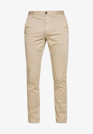 CORE STRAIGHT FLEX - Chinos - khaki