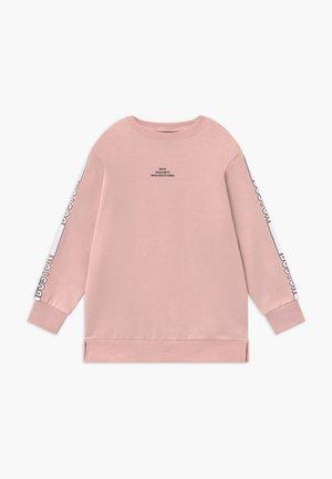 LOGO STRIPE SLEEVE - Sweater - nude