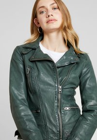 Oakwood - Leather jacket - bronze - 3