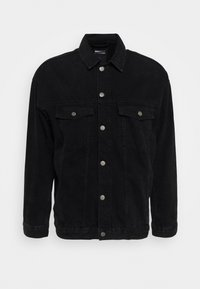 ENO JACKET - Jeansjacka - worn black