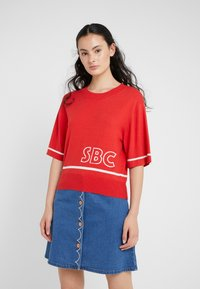 See by Chloé - Pullover - white - red - 0