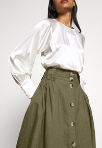 esmé studios - TASJA SKIRT - A-line skirt - dusky green - 5