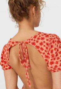 Stradivarius - Day dress - red - 3
