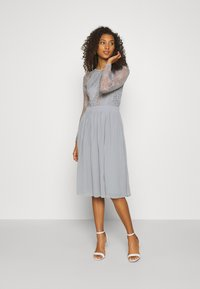 Nly by Nelly - SOMETHING ABOUT HER - Vestito elegante - grey - 0