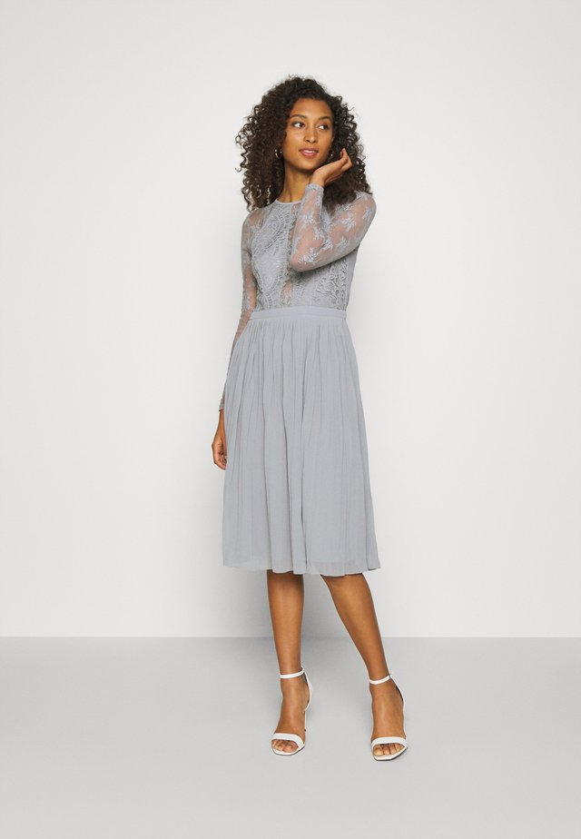 SOMETHING ABOUT HER - Cocktail dress / Party dress - grey
