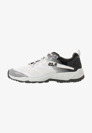 FAST STRIKER LOW - Hiking shoes - offwhite/black