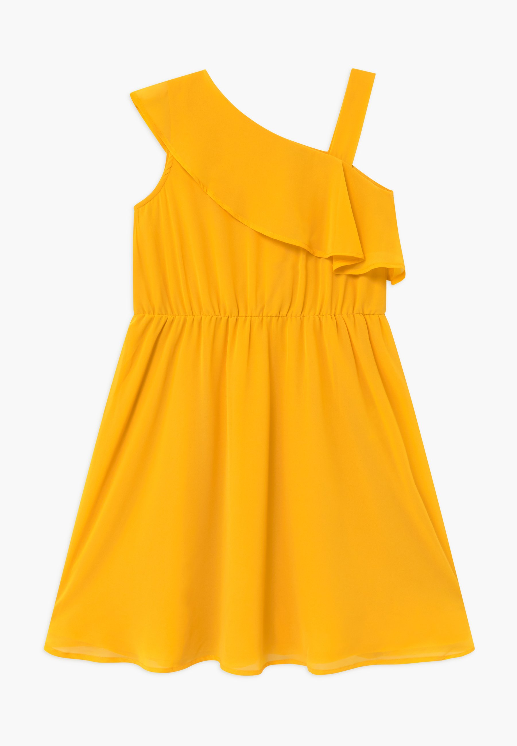 lemon beret cocktailkleid/festliches kleid - golden rod/senf