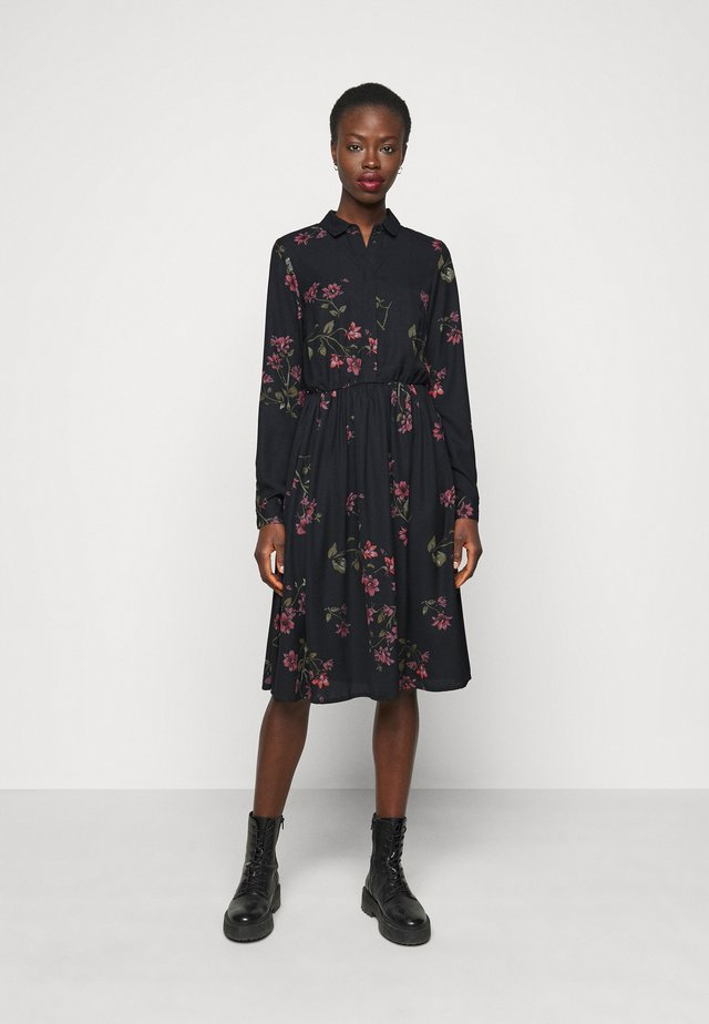 VMGALLIE DRESS  - Shirt dress - black
