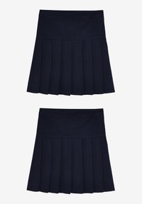 Next - 2 PACK - A-line skirt - blue - 3