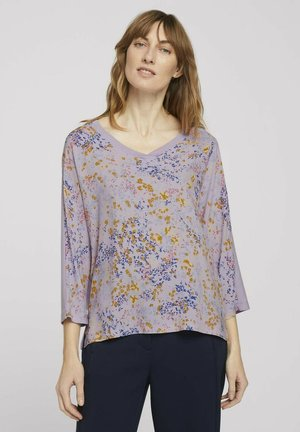 Long sleeved top - heather lilac