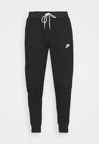 Nike Sportswear - Tracksuit bottoms - black/ice silver/white - 3