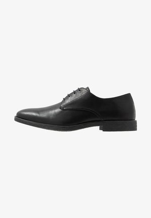 ROLAND - Elegantní šněrovací boty - black