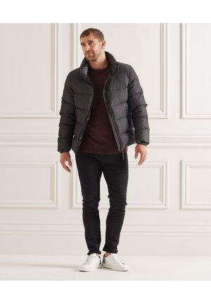STUDIOS ALPINE - Down coat - black wash chambray