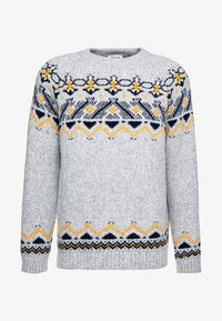 Wood Wood - GUNTHER - Strikpullover /Striktrøjer - grey - 3
